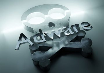An image featuring adware concept