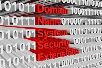 An image featuring domain name system security extensions text