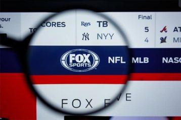 An image featuring Fox Sports website
