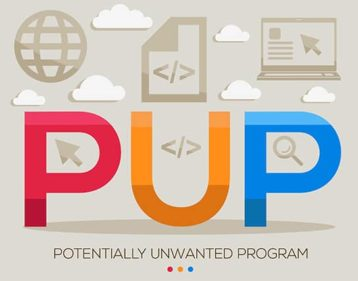 An image featuring potentially unwanted program concept