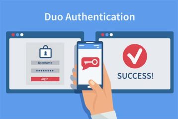 An image featuring two factor authentication concept