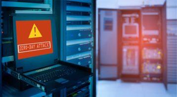 An image featuring a zero day DDoS attack concept