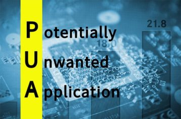An image featuring potentially unwanted application concept