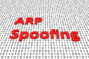 An image featuring ARP spoofing concept