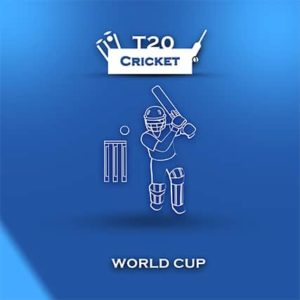 An image featuring T20 Cricket World Cup concept