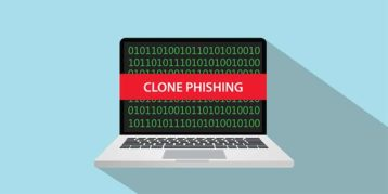 An image featuring clone phishing concept