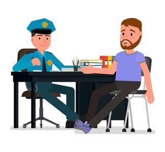 An image featuring criminal complaint concept