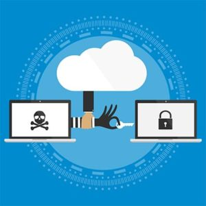 An image featuring ransomware protection concept