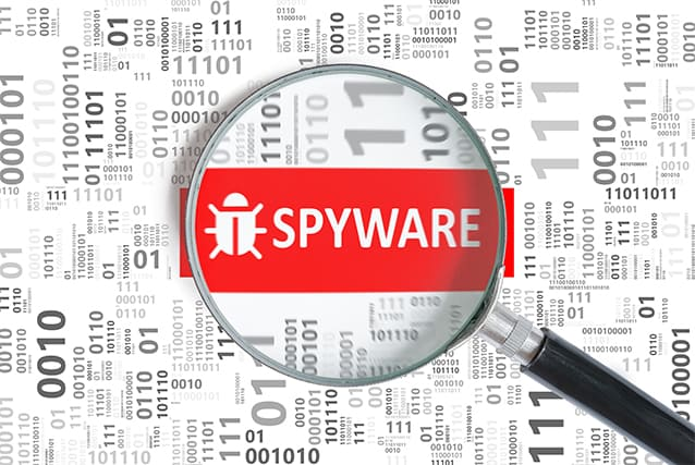 An image featuring spyware concept