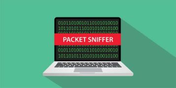 An image featuring packet sniffer concept