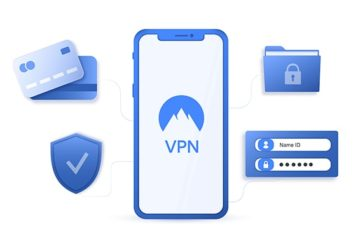 An image featuring settting up a VPN concept
