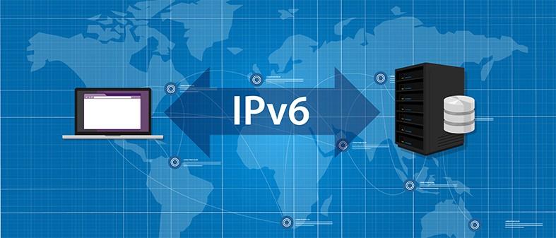 An image featuring an IPv6 address concept