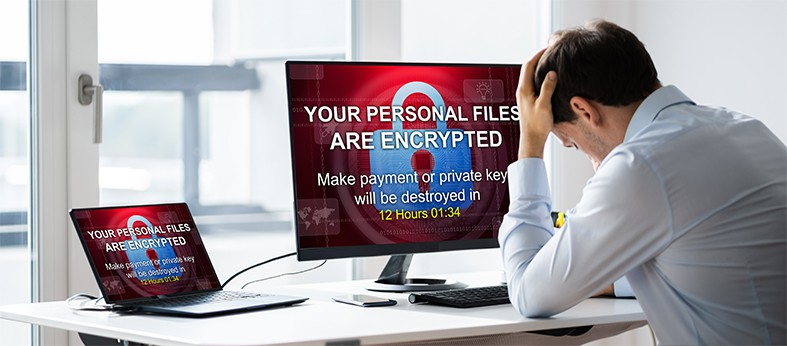 An image featuring ransomware concept
