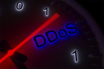 An image featuring a DDoS attack length concept