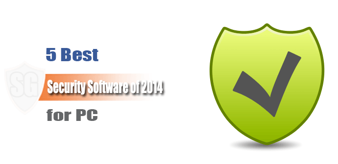 5 Best Security Software of 2014 for PC