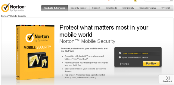 Norton Mobile Protection