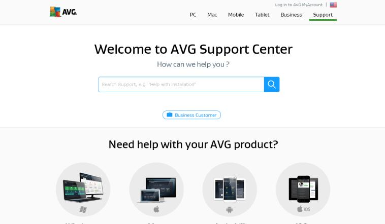 AVG Free Antivirus Help