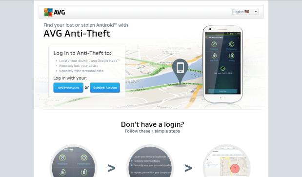 AVG Free Antivirus Mobile protection