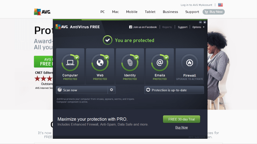 AVG Free Antivirus Review 2014