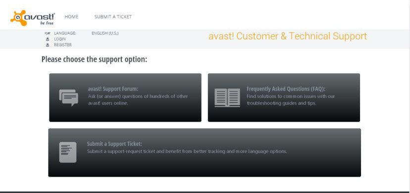 Avast Free Antivirus Help&Support