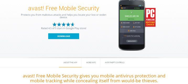 Avast Free Antivirus Mobile Protection