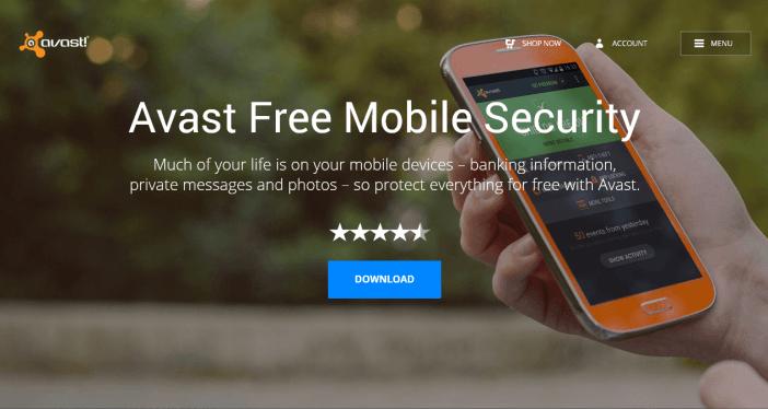 Avast Tablet Security