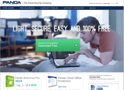 Panda Cloud Antivirus Free Review