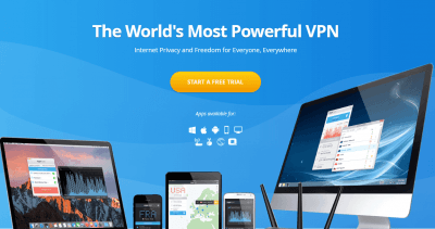 VyprVPN-homepage