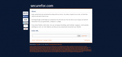 Securefor Screenshot