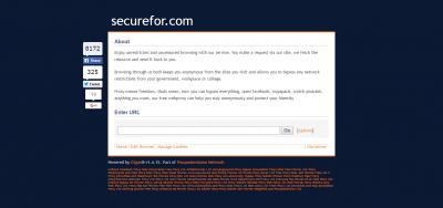 Securefor Screenshot