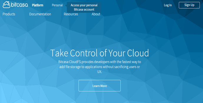 Bitcasa Cloud Storage Platform Review