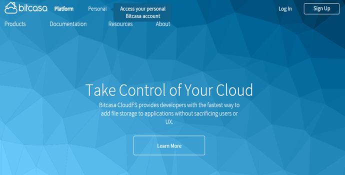 Bitcasa Cloud Storage Platform Review