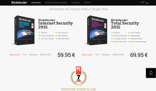 Bitdefender Internet Security