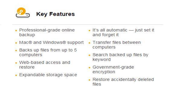 norton online backup free