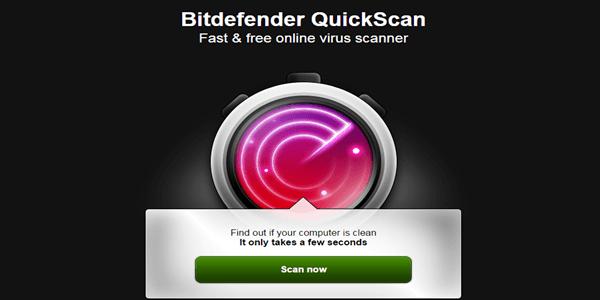 Bitdefender Online Virus Scan