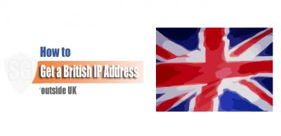 British IP Address outside UK