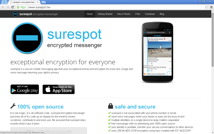 Surespot Encrypted Messenger