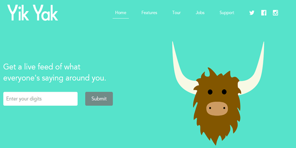 Yik Yak Messaging App Easily Hacked
