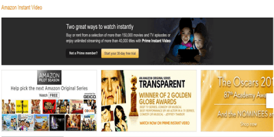 Amazon Instant Video Outside US