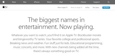 American Channels on Apple TV outside US