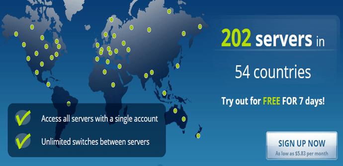 Astrill VPN Servers