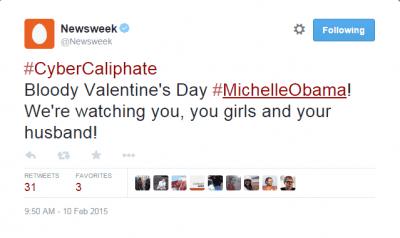 Newsweek Twitter Account Hacked