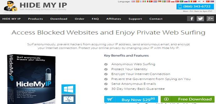 HideMyIp Download
