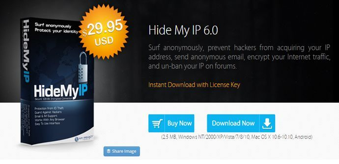 HideMyIp Windows