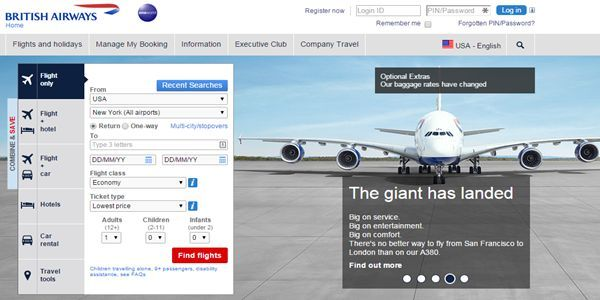The accounts of British airways' frequent flyers got hacked