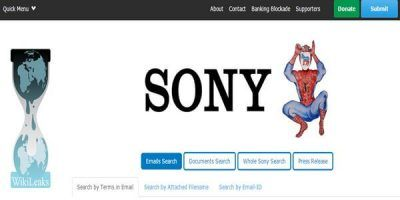 WikiLeaks Republished All Data from Sony Hack