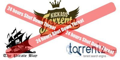 24 Hour Shutdown Threat to Torrent Websites