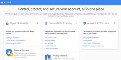 Google launches new privacy settings page to tightening up its privacy controls