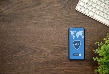 An image featuring VPN app concept