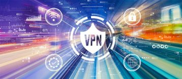 An image featuring VPN speed concept